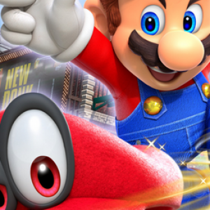 Jaquette Super Mario Odyssey