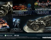 Batman Arkham Knight: L'édition collector Batmobile annulée par Warner Bros.