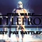 Star Wars Battlefront : Ce n'est pas un Battlefield !