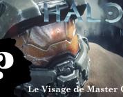 Halo 5 : Le visage du Masterchief.