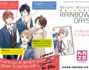 Rainbow Days : le nouveau Shojo chez KAZE