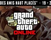 GTA Online : GTA$ et RP doublés dans l'évenement «Des amis haut placés»