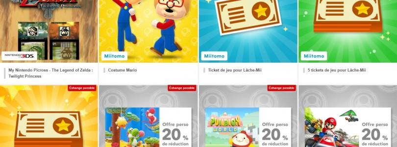 My Nintendo rewards