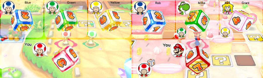 Mario Party Star Rush Test
