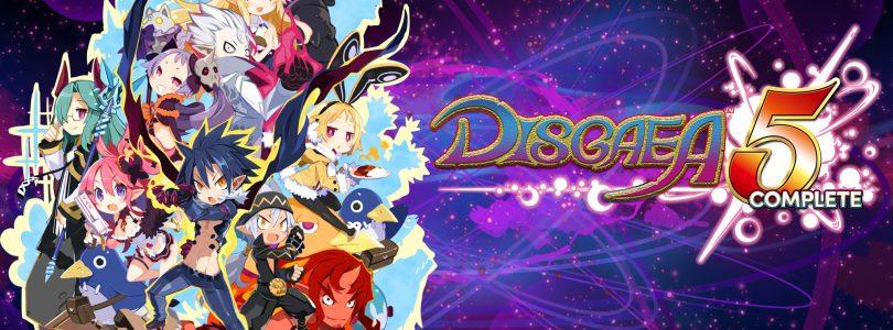 Disgaea 5 Complete sera disponible sur Nintendo Switch