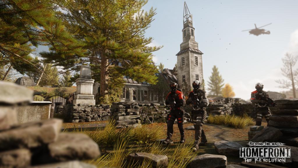 The Revolution se met à jour pour la Xbox One X — Homefront