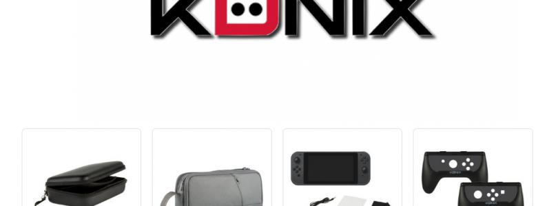 Konix annonce une nouvelle gamme d'accessoires pour la Nintendo Switch