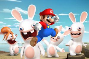 Rabbids x Mario