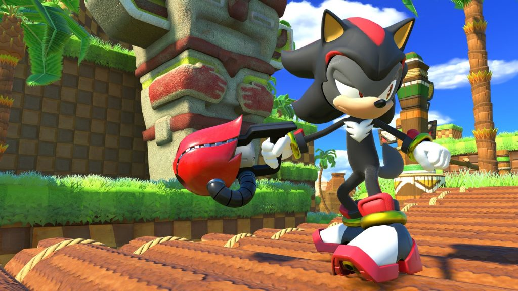 Une nouvelle vidéo de gameplay en compagnie de Shadow — Sonic Forces