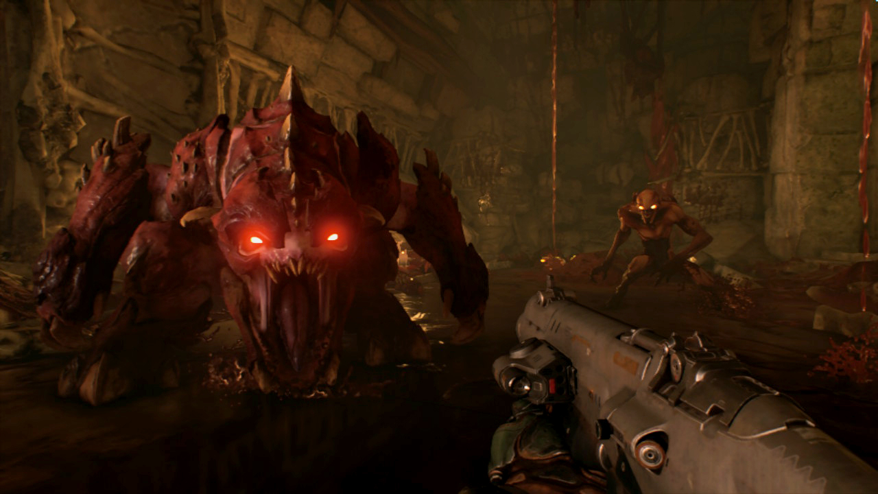 Une Sur Switch le 11 novembre — Doom