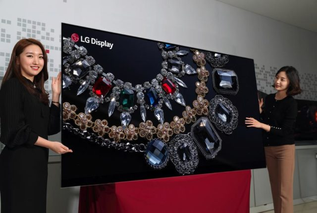 Écran Oled 65'' et Display Stretch enroulables chez LG Display