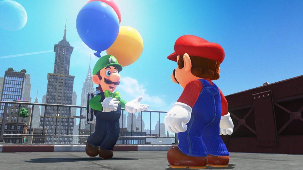 Un mode online pour Mario Odyssey avec Luigi !