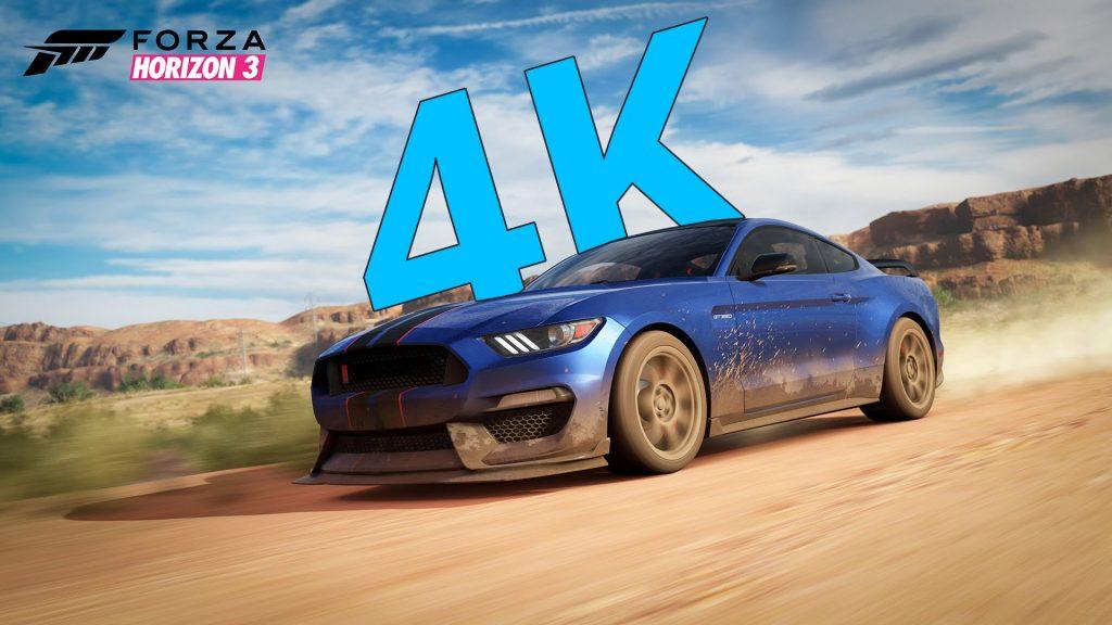 Forza Horizon 3 passe au 4K UHD sur Xbox One X