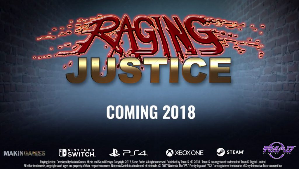 Du beat them all à l'ancienne sur consoles et PC — Raging Justice