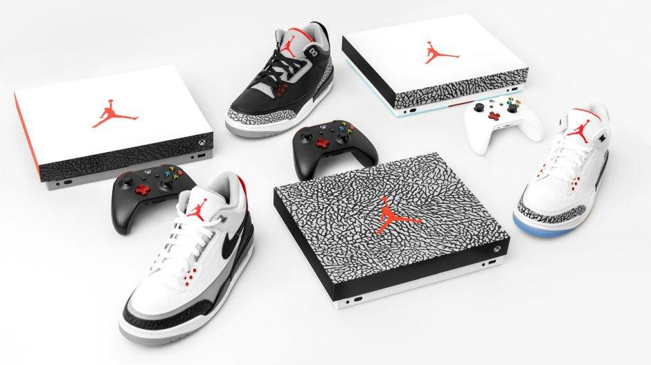 Microsoft : la Xbox One X aussi en version (limitée) Air Jordan III