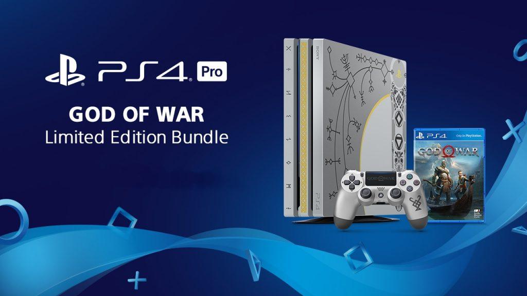Une Playstation 4 Pro aux couleurs de God of War