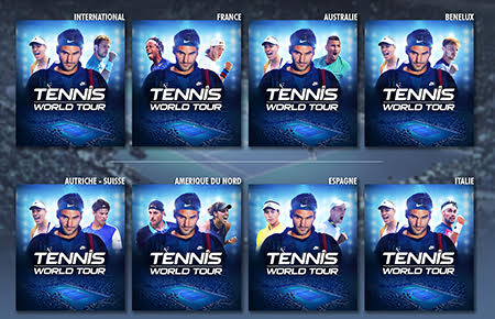 Tennis World Tour débarque en mai sur Xbox One