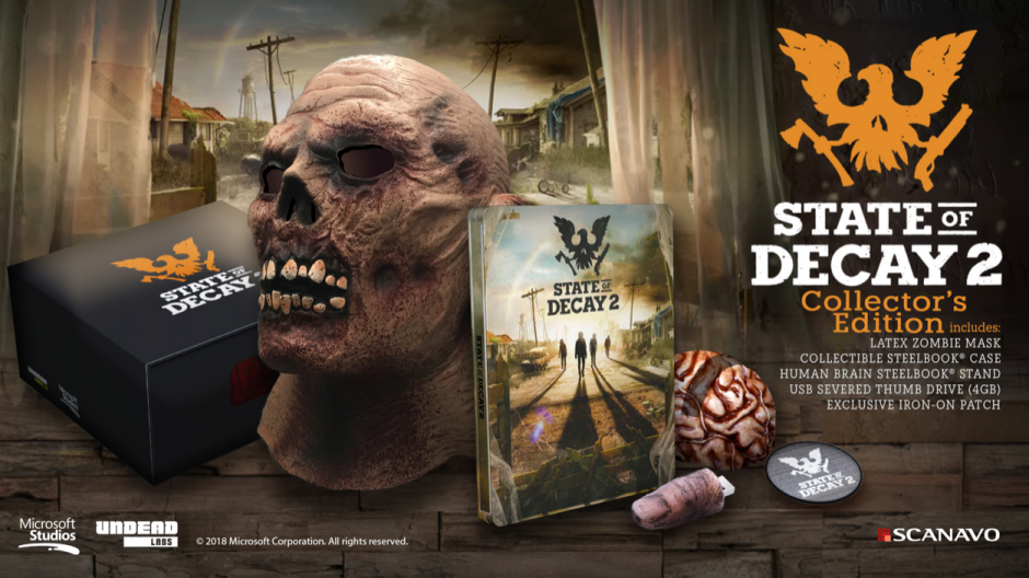 State of Decay 2 exhibe son édition collector